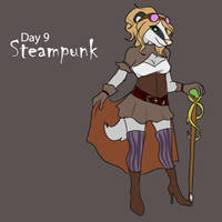[Halloween Advent] Day 9 - Steampunk by Ulario