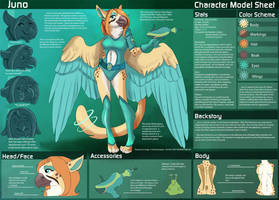 [Personal] Juno - Character Sheet by Ulario