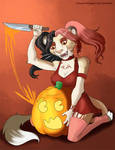 [Goretober] Day 31 - Halloween Gore by Ulario