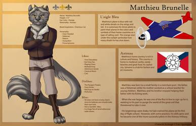 [Personal] Matthieu - Character Sheet by Ulario