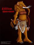 [Paleo Anthros] American Mastodon by Ulario