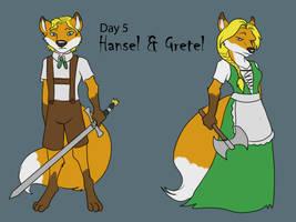 [Dark Advent] Day 5 - Hansel and Gretel by Ulario