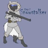 [Dark Advent] Day 7- Snowstalker by Ulario