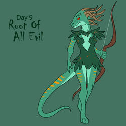 [Dark Advent] Day 9 - Root of all Evil by Ulario