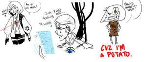 Portal Sketch Dump by Prussia-Watson