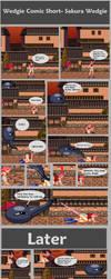 Sakura wedgie- short comic by megayolk
