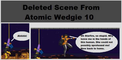 Atomic Wedgie 10 deleted panel by megayolk