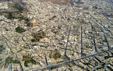 Valletta from up by stefanpriscu