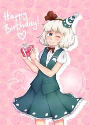 Birthday Youmu by ManaManami
