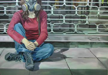 Gas Mask by LehannanSidhe