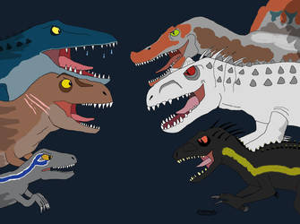 Jurassic World -  Two Sides by NiallNorwood66