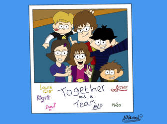 TSS - Selfie pic of friends group by NiallNorwood66