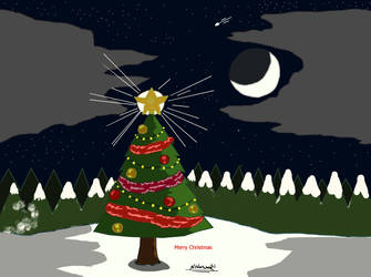 One Christmas Tree Night by NiallNorwood66