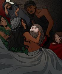 The Head of Iokannon by isjusterin