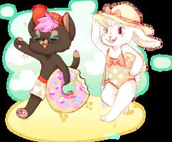 beach time fun! by irlnya