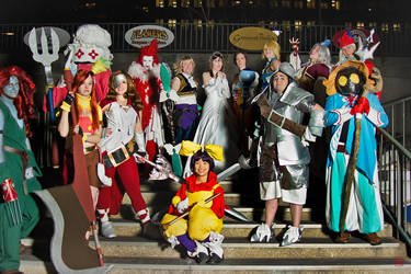 The Cast of Final Fantasy IX by OvernightSiren