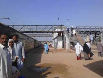 Haiderabad Railway Station by m33mt33n