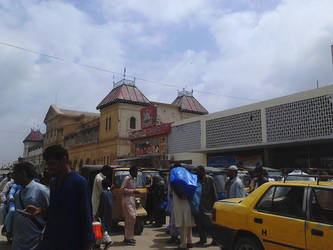 Karachi Cantt Railway Station by m33mt33n
