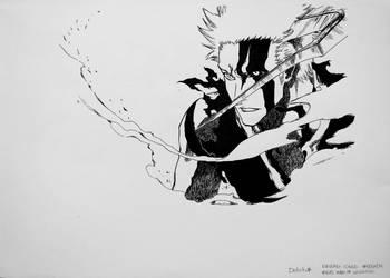 Kurosaki Ichigo by VizardGirl