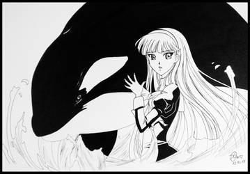 #12 Whale by VizardGirl