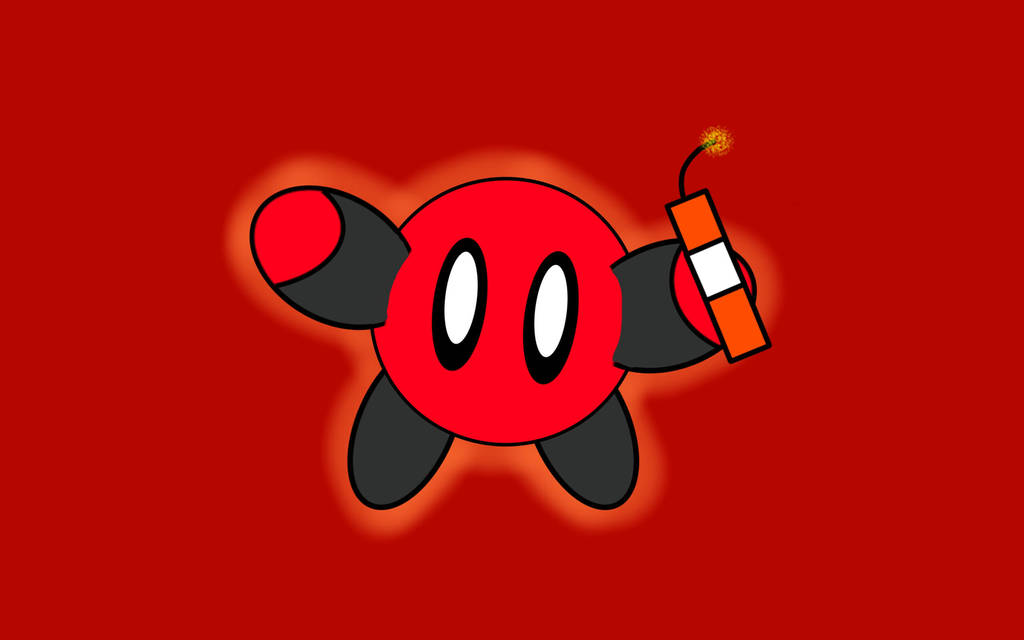 Deadpool Kirby V3 Now With 100 More Dynamite By Loucacoles On