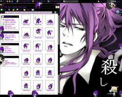 Gakupo Shimeji by DeatheningForHavoc