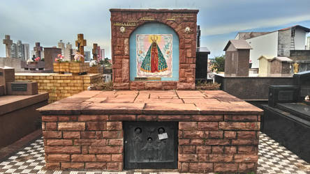 our lady of aparecida's art by bldlover666