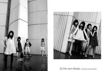 Zij Vier een Meisje by chandra7