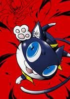 persona5-Morgana by LotusLee115