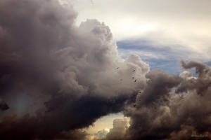 Heavy Heavy Clouds by LeessaRay