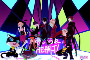 P5: Steal Your Heart! by oldzio-olditore