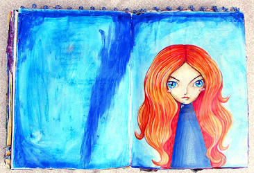 Red Head by krissasaur