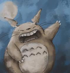 Totoro by krissasaur