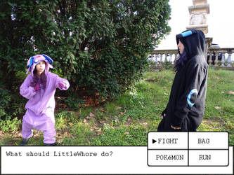 Fight! (Pokebattle 2/6) by MudFae