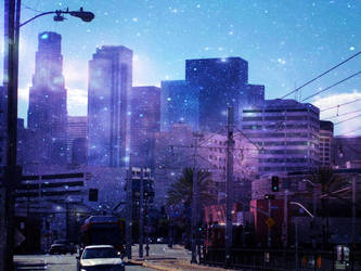 Los Angeles Home of the Stars by rc360