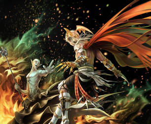 Assasin VS Warlock by MasterTeacher