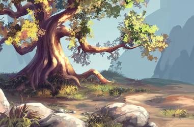 Simple tree by MasterTeacher