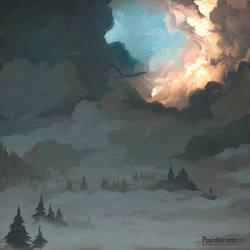 Dragon Clouds by MasterTeacher