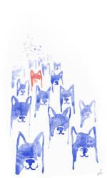 dogs by chmurkabzdurka