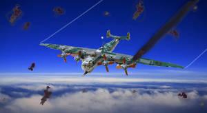 Heinkel He-274 by Einon88