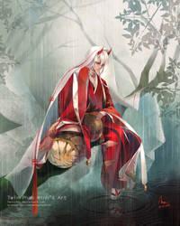 Onmyoji-Ibaraki Douji by TwinPhanMinh