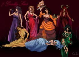 seven deadly sins by attitudechick