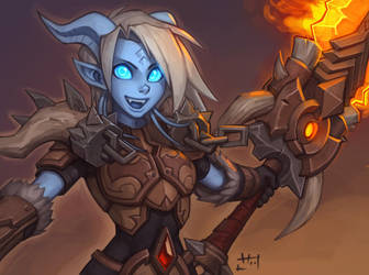 Warlord of Draenor by Zeon-in-a-tree