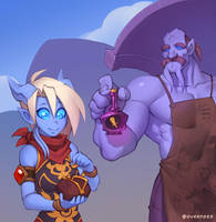 Draecember 24th - Shopping by Zeon-in-a-tree