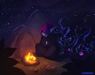 Voidtember 5th - Camping by Zeon-in-a-tree