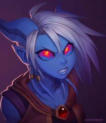 Draecember 8th - Secret by Zeon-in-a-tree