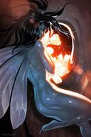 Dark Fairy by nakanoart