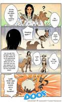 Skyrim: Lydia and Khajiit by nakanoart