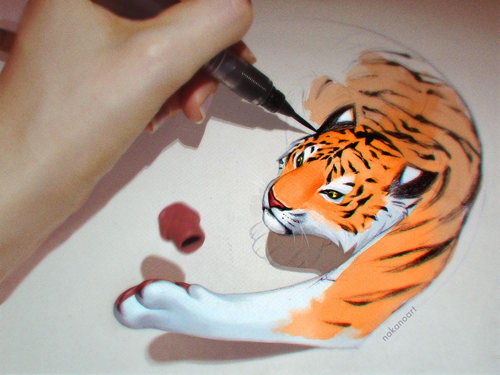 Art is Wild by nakanoart