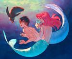 Haruka Found Ariel by nakanoart